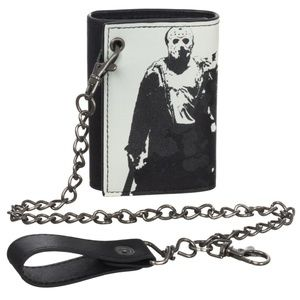 Friday The 13th Chain Wallet Jason Classic Horror